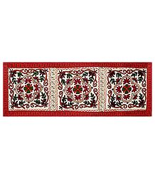 Embroidered Cloth with Floral Design