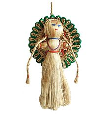 Jute Doll - Wall Hanging