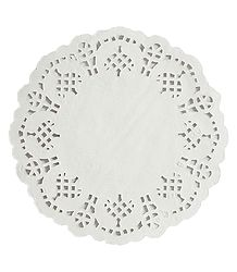 100 Pcs. Disposable Paper Doily Set