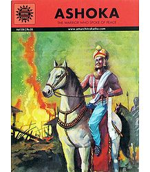 Ashoka - The Warrior who Spoke of Peace - Book