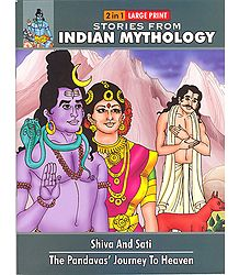 Shiva and Sati and the Pandavas' Journey to Heaven - Book