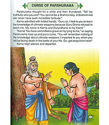 Karna is Cursed - from the Book 'Veer Karna'
