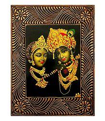 Radha Krishna - Deco Art Wall Hanging