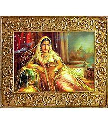 Rajput Princess - Wall Hanging