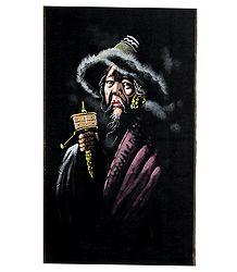 Tibetan Old Man