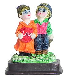 Couple with Love - Plaster Of Paris