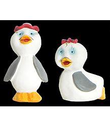 Cute Duckling Pair