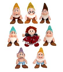Snow White and Seven Dwarfs - Set of 8