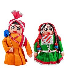 Gujrati Couple Doll - Buy Online