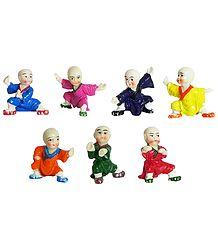 Seven Karate Kids