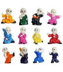 Twelve Karate Kids