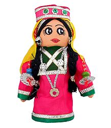 Kashmiri Belle - Cloth Doll