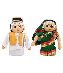 Marathi Bridal Doll - Cloth Doll