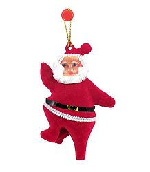 Hanging Red Santa Claus