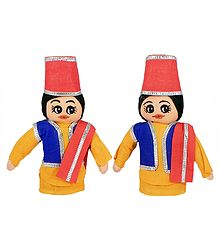 Qawwali Singers - Cloth Dolls