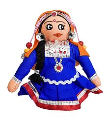 Rajasthani Girl - Cloth Doll