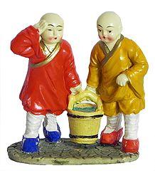 Cute Shaolin Monks