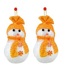 Snowman for Christmas Decoration - Wall Hanging