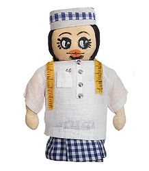 Muslim Tailor - Cloth Doll