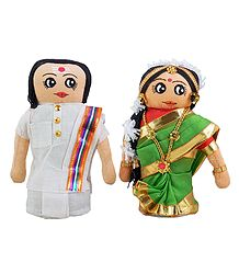 Tamil Couple - Cloth Doll