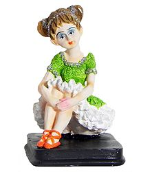 Plaster of Paris Doll