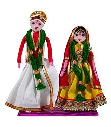 Bride and Bridegroom From Andhra Pradesh