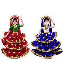 Gypsy Dancers - Wire Doll