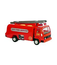 Red Acrylic Fire Service