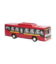 Low Floor Red Toy Bus