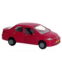 Red Honda City