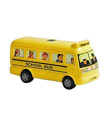 Yellow Acrylic School Bus
