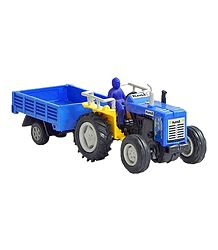 Acrylic Tractor with Trolley