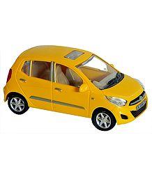 Yellow Hyundai i10