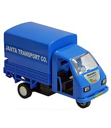 Blue Acrylic  3 Wheeler Transporter