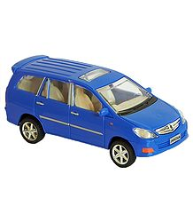 Blue SUV Toy Car