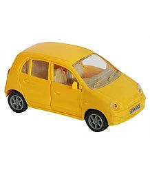 Yellow Santro Car