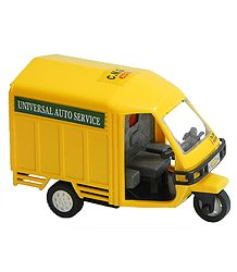 Yellow Auto Toy Transporter
