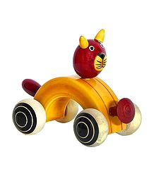 Cat Car - Chennapatna Toy