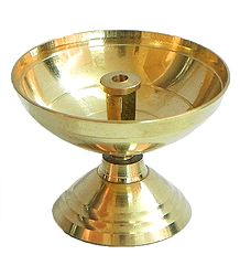 Akhand Jyoti Brass Oil Lamp