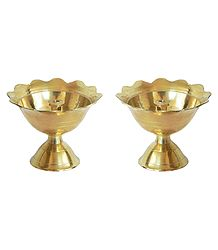 Set of 2 Devdas Diya