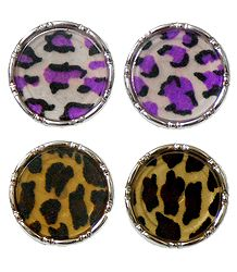 Colorful Acrylic Disc Earrings