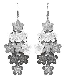 Metal Chandelier Earrings