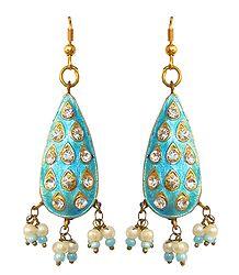 Buy Online Meenakari Earrings