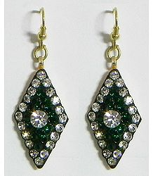 Stone Setting Earrings