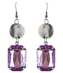 Mauve Stone Earrings