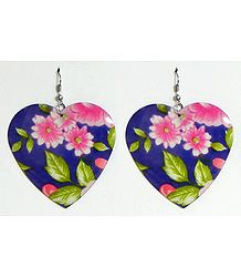 Shop Online Heart Shaped Metal Earrings