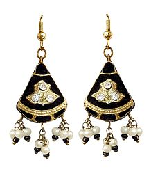 Meenakari Lac Dangle Earrings