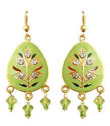 Meenakari Dangle Earrings
