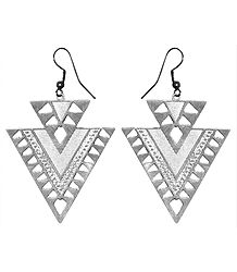 Triangle Metal Earrings