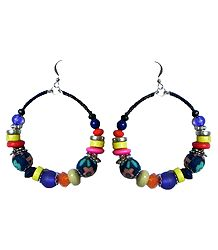 Multicolor Bead Earrings
